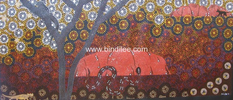 Centre Dreaming - Bindi Lee Australian Indigenous Artist