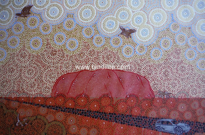 The Journey - Bindi Lee Australian Indigenous Artist