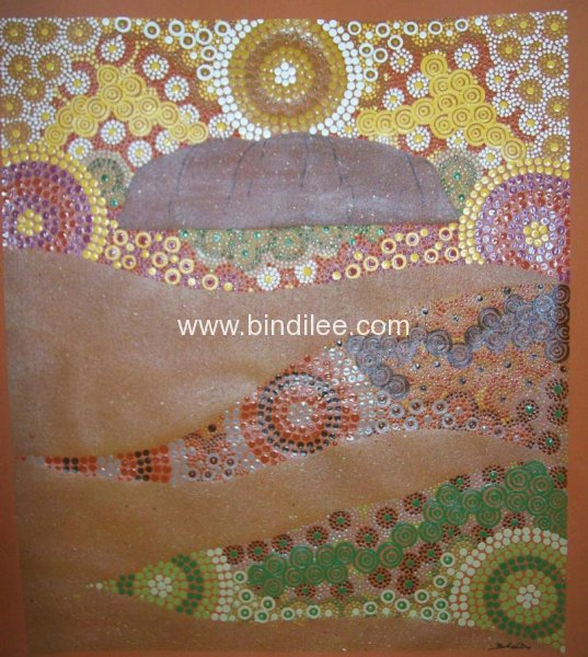 Desert Colours - Bindi Lee Australian Indigenous Artist