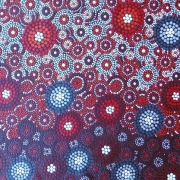 Firie Red - Bindi Lee Australian Indigenous Artist