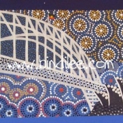 A Night on the Harbor - Bindi Lee Australian Indigenous Artist