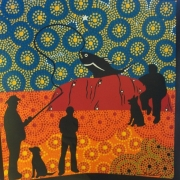 Fishing Club - Bindi Lee Australian Indigenous Artist