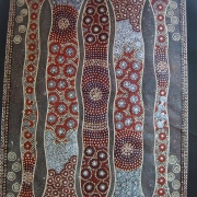 Red - Bindi Lee Australian Indigenous Artist