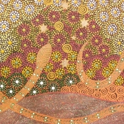 Rainbow Serpent - Bindi Lee Australian Indigenous Artist