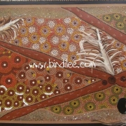 The Emu Story - Bindi Lee Australian Indigenous Artist