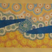 A Day at the Beach - Bindi Lee Australian Indigenous Artist