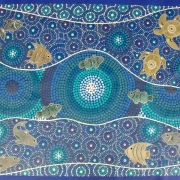 I've Gone Fishing Again - Bindi Lee Australian Indigenous Artist
