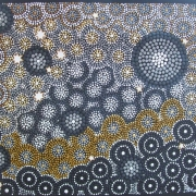 Night Sky - Bindi Lee Australian Indigenous Artist