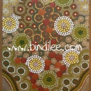 Spirits in the Sky - Bindi Lee Australian Indigenous Artist