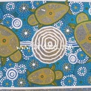 Turtle Family - Bindi Lee Australian Indigenous Artist